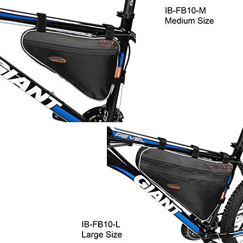 Ibera Fahrrad-Rahmentasche, Fahrradtasche Triangle Bag, Bicycle Triangle Frame Bag