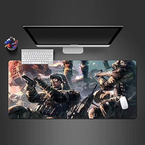 Qualitätsmausunterlage Mausunterlage Computermausunterlage populäre Spielertastaturunterlage 800x300x2