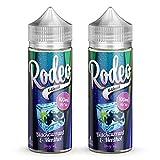 Twin Pack - 2 x 100ml Blueberry E Liquid 70/30 Vape Juice E-Liquid