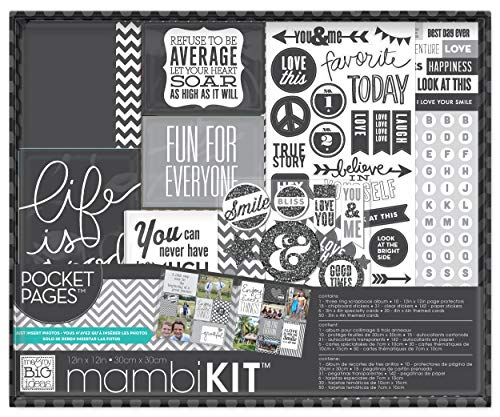 Unbekannt Me and My Big Ideas Me and My Big Ideas Boxed Album Kit, 12von 12Zoll, Life is Good - Boxed Album Kit