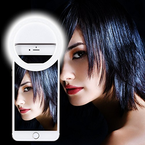 Ultra Aura Selfie Ring Light 36 LED Portable Flash for