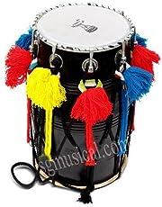 SG Musical Punjabi Bhangra Junior Dhol with Padded Carry Bag
