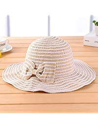 Grand chapeau de soleil anti-ultraviolet aux avant été Femelle Foldable chapeau de soleil Parent-enfant Bonnet anti-soleil - Chapeau solaire portable pliable