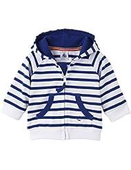 Petit Bateau Brigado - Sweat-shirt à capuche - À rayures - Manches longues - Bébé garçon