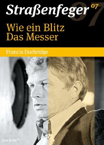Straßenfeger 07: Wie ein Blitz / Das Messer (Durbridge-Krimis) (4 DVDs)