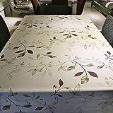 PQPQPQ PVC Drucken Home Wasserdichte Tischdecken Couchtisch Tuch, 1 137 * 180 cm.