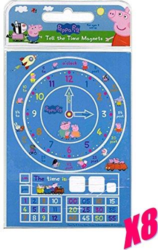 Peppa Pig-(Learn To) sagen, die Zeit Magnete