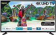 Samsung 108 cm (43 Inches) Super 6 Series 4K UHD LED Smart TV UA43NU6100 (Black) (2019 model)
