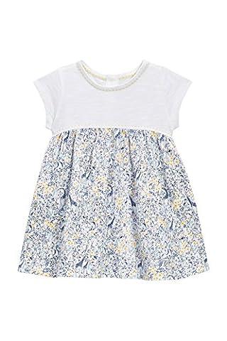 next Robe imprimée en jersey (0 à 2ans) Fille Bébé Standard Ecru 12-18 mois