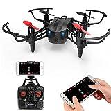 Metakoo RC Drohne, Quadcopter mit FPV HD Wifi Kamera, für Kinder und Anfänger, Höhensteuerung, 3D VR, 2,4 GHz 6 Achsen Gyro, Kopflos Modus, Einstellbare Geschwindigkeit, Ein-Knopf-Start/Landung, M5