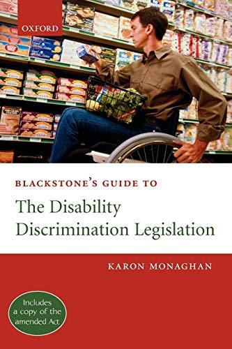 Blackstone's Guide to the Disability Discrimination Legislation PDF Books