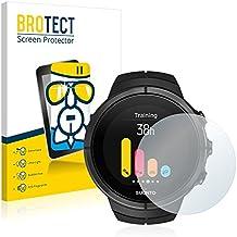 BROTECT AirGlass Protection Verre Flexible pour Suunto Spartan Film Vitre Protection Ecran Transparence - Extra Résistant, Ultra-Léger, Clair