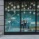 Dadahuam Stickers muraux créatifs Motifs de Flocons de Neige de Noël décoratifs pour fenêtres et Portes en Verre au Printemps Festival Autre Utilisation consistent