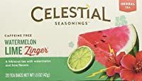 Celestial Seasonings Watermelon Lime Zinger Tea, 20 Tea Bags