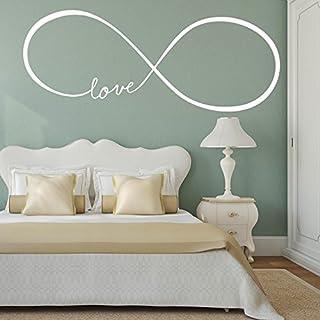 'Adesiviamo wall0000450B L Wandtattoo, PVC 70 x 28 cm Bianco