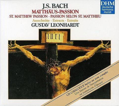 La Passion selon Saint Matthieu / extraits