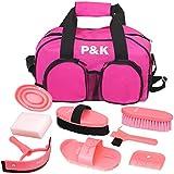 Pferdepflegeset pink Werkzeugset für Pferde putzset (Weihnachten Geschenkideen)