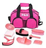 Pferdepflegeset pink Werkzeugset für Pferde putzset (Top Geschenkideen)