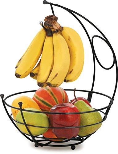 EOAN Kangaroo Fruit Basket Black