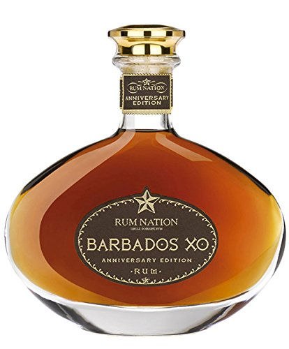Rum Nation Barbados XO Anniversary Edition über 12 Jahre gereift (1x0,7l) mit Geschenkverpackung