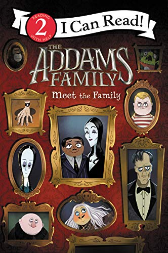 The Addams Family: Meet the Family (I Can Read Level 2) (English Edition) (Girl Halloween Addams Family)