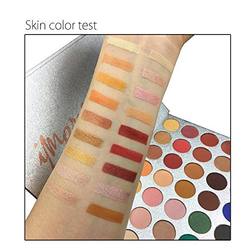 Beauty Glazed 35 Colors Eyeshadow Palette Eye Shadow Powder Make Up Waterproof Eye Shadow Palette Cosmetics