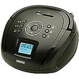 Daewoo DBU-39BT Digital 2W Negro - Radio CD (Digital, FM, Repetir, Repetir todo, 2 W, LCD, Azul)