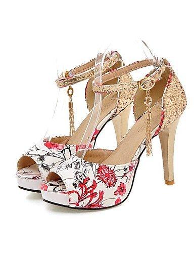 LFNLYX Chaussures Femme-Mariage / Bureau & Travail / Habillé / Décontracté / Soirée & Evénement-Noir / Bleu / Vert / Rouge-Talon Aiguille- Blue