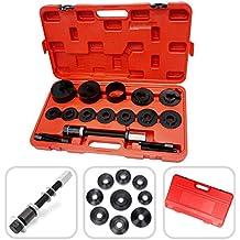 Cofrecito de herramientas para rodamiento de rueda – 18 piezas para solución de reparación de los rodamientos de rueda