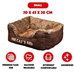 The Dog's Bed, Premium Waterproof Dog Bed, Med 80x60cm, Tough YKK Zippers, Washable Durable Cover 29