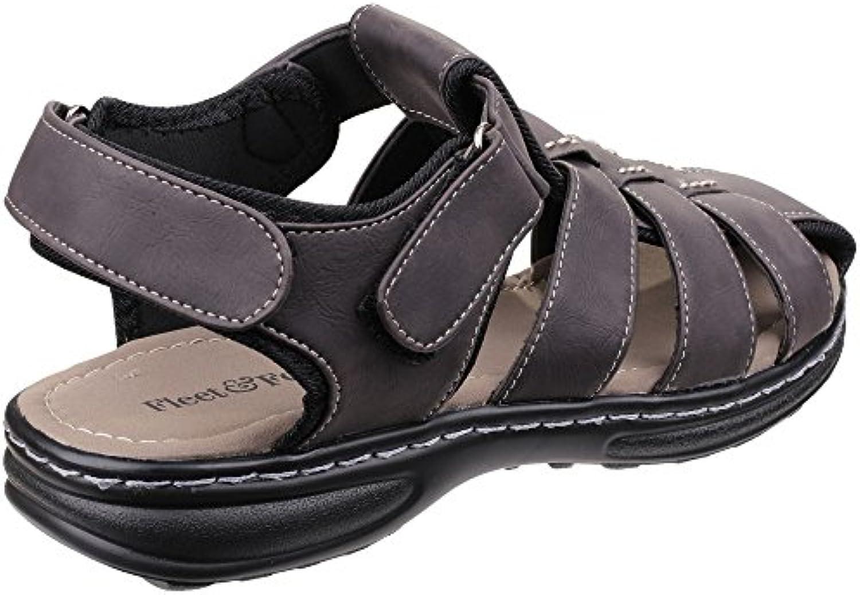 Fleet And Foster Mens Felixstowe Velcro Summer Sandals