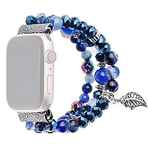 Armband Kompatibel mit Apple Watch Series 1/2/3/4 38/40/42/44mm,Nourich Armbänder Erstzarmband Ersatzband SmartWatch Uhrenarmband Herren Damen Bracelet Strap