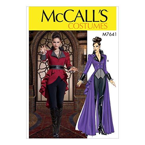 McCall 's Patterns 7641E5Schnittmuster Kostüm, (Kostüm Muster Mccalls)