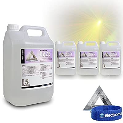 Dynamic Premium Haze Machine Fluid (4x5L) Liquid Solution DJ Disco Party Effects