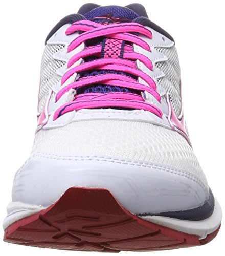 Mizuno Ladies Wave Rider W Scarpe Da Corsa Multicolore (whitepink Globlueprint)