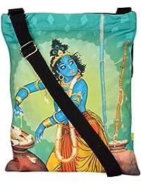 Eco Corner Women's Sling Bag (Multi-Coloured, 4218)