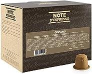 Note D'Espresso Ginseng Preparato Solubile in Capsule per Bevanda,