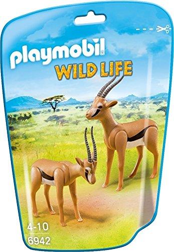 Playmobil 6942 - coppia di gazzelle, multicolore