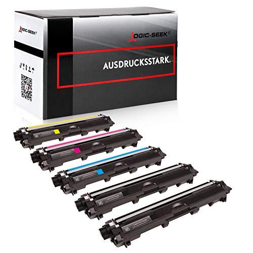 Logic-Seek 5 Toner kompatibel für Brother TN-241 TN-245 DCP-9020 CDW HL-3140 3150 3170 CW CDN CDW MFC-9130 9140 9330 9340 CDN CDW