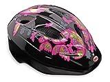 Bell Kinder Fahrradhelm Dart, Black/Pink Butterflies, 50-54 cm, 210033007