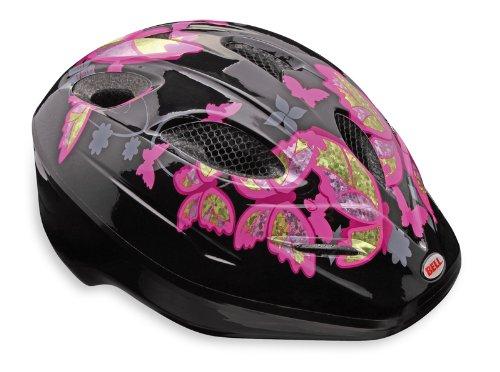 Bell casque de vélo pour enfant dart Small Multicolore - Black/pink Butterflies