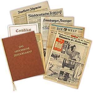 Geburtstagszeitung von 1936 - die historische Zeitung aus dem Jahr 1936 im Original - Verschenken Sie eine Rarität zum 80. Geburtstag
