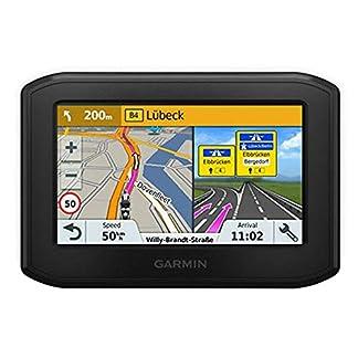Garmin-zmo346-LMT-S-WE-Motorrad-Navigationsgert-Motorrad-Navigationsgert-West-Europa-Karte-lebenslange-Kartenupdates-Routingfunktionen-Sicherheitshinweise-43-Zoll-109cm-Touchdisplay