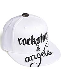 Rockstars & Angels Unisex Cap Logo Large white