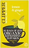 Clipper Organic Lemon & Ginger 20 Tea Bags