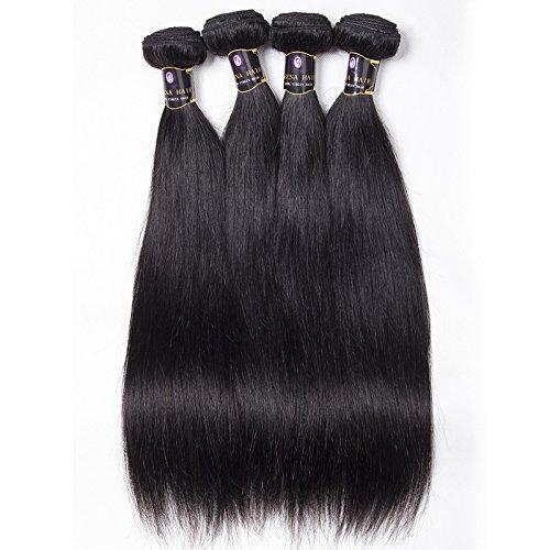 Rideaux de rideau de vrais cheveux Brésil faite par brésilien cheveux perruque européenne naturel soyeux cheveux noirs,20 inch