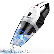 Handheld Cordless Vacuum Cleaner, Holife Rechargeable Hand Held Car Vac Cordless, Wet Dry Vacuum Cleaner with 14.8V Lithium Quick Charge Tech and Cyclonic Suction