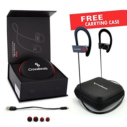 CrossBeats Wireless Bluetooth Earphones – Black