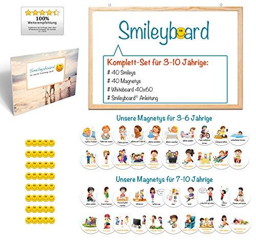 Smileyboard Komplett-Set für 3-10 Jährige - So macht Erziehung Spaß!