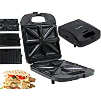 3in1 Kontakt-Grill Waffel-Automat Sandwich-Maker 750 Watt Melissa 16240093
